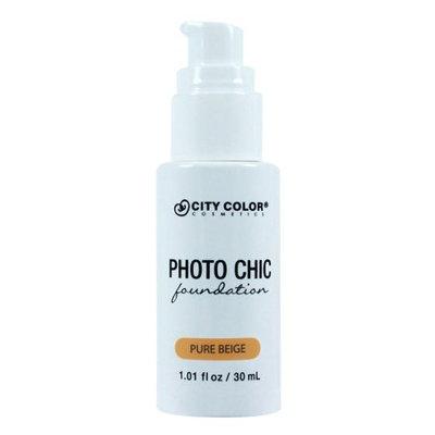 City Color Photo Chic Foundation -PURE BEIGE