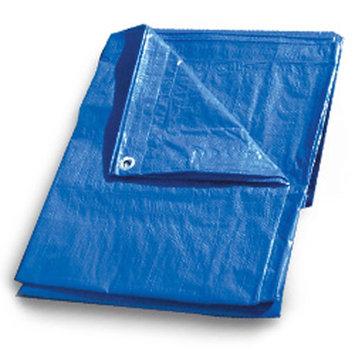 Continental Western Corporation CWC Regular-Duty Tarp - 10' x 20', Blue (Pack of 6 tarps)