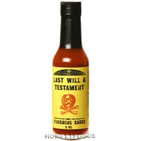 Judicial Flavors JF707 Last Will & Testament Hot Sauce - Pack of 12