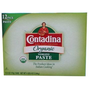 Contadina Organic Tomato Paste 12pk (6oz Cans)