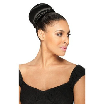 ECLAIRE (4 Medium Brown) - Shake N Go Freetress Synthetic Hair Bun/Ponytail Dome