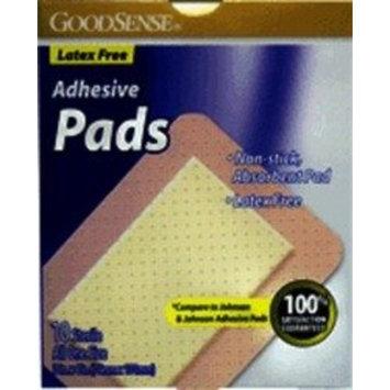 Good Sense Sterile Adhesive Pads 3x4 10ct Case Pack 72