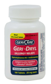 Geri-Dryl Allergy Relief
