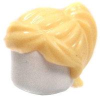 LEGO Blonde Ponytail Swept Sideways Loose Hair
