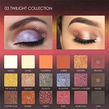 DZT1968 FOCALLURE 18 pearl Colors 3 types Pearlized Eyeshadow Powder EyeShadow Palette Set