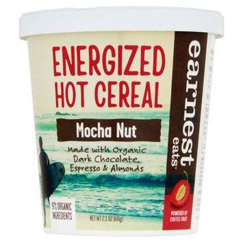 Earnest Eats, Cereal Hot Cup Mocha Nut, 2.1 Oz (Pack Of 12)