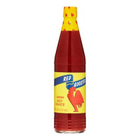 Redroo Red Rooster Hot Sauce, 6 Oz