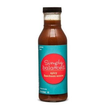 Szechuan Sauce Gluten Free 12oz - Simply Balanced™
