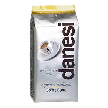 Danesi Gold Quality Beans 2.2 lbs bag Espresso Coffee Beans from Italy (6 x 2.2 lbs)