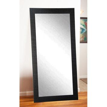 BrandtWorks Modern Leaning Floor Mirror - Black