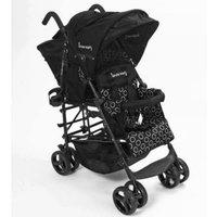Kinderwagon Hop Tandem Umbrella Stroller - Black v2