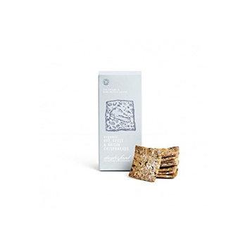 Daylesford Organic Rye, Spelt & Raisin Crispbreads 120G (Pack of 6)