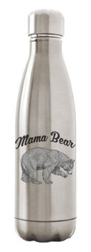 Custom Apparel R Us Stainless Steel Water Bottle Double Wall Vacuum Insulated 17 oz Mama Bear