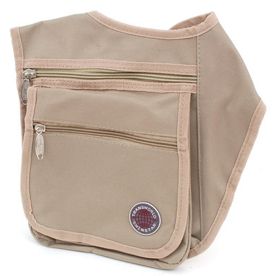 Organizer Cross Body Messenger Bag Wear as a Shoulder Clutch or Sling Handbag