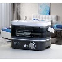 Comfort Products, Inc. Relaxzen HCM-29360500 TrueMist Top Fill Cool Mist Humidifier, Gray/Smoke