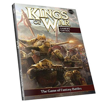 Kings of War - 2nd Edition Rulebook - Gamers Edition (soft cover) MGCKW05 Mantic Entertainment