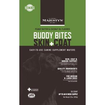 Majestys Animal Nutrition Majesty's Buddy Bite Skin + Coat Dog Wafers