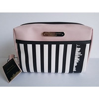 Victoria's Secret Pink Black & White Limited Edition New York City Exclusive Makeup Bag