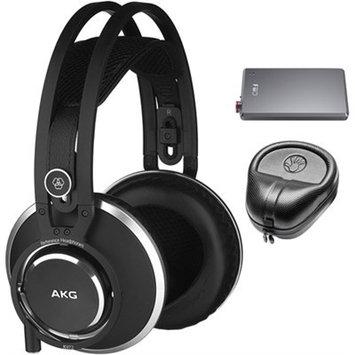Akg. AKG Master Reference Closed-Back Studio Headphones K872 w/ A5 Amplifier Bundle