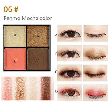 Creazy 4 Color Ladies Cosmetics Waterproof Lasting Pearls Eye Shadow Platte