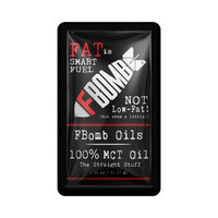 FBOMB Premium MCT Oil – All-Natural On-the-Go Energy, 100% Pure, Raw, Premium Oil - 1-Ounce Packets, 10-Count Box [Premium MCT Oil]