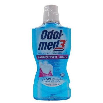 Authentic German Odol Med 3 Antibacterial Gum Active Mouthwash 500 Ml