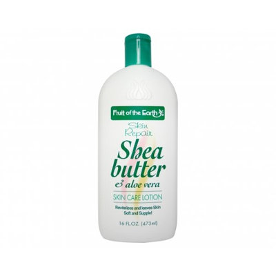 Fruit Of The Earth Shea Butter And Aloe Vera Lotion - 16 Fl Oz (473 Ml)