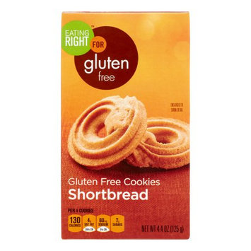 Eating Right Gluten Free Shortbread, 4.4 Oz