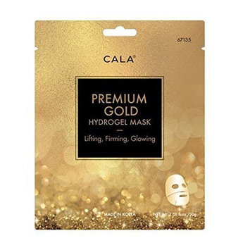 CALA Pure Radiance PREMIUM GOLD HYDROGEL MASK- Lighting Firming Glowing 3 sheet/pack