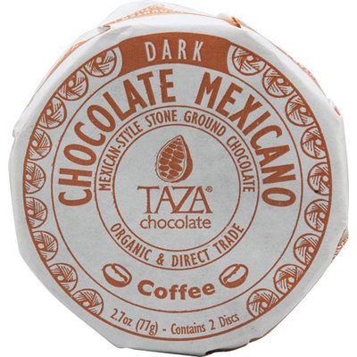 Taza Chocolate Organic Chocolate Mexicano Disc Coffee - 2.7 oz pack of 12