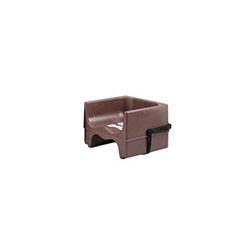 Cambro 200BCS131 Dark Brown Dual Seat Booster Seat with Strap