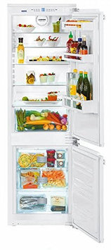 Liebherr HC1030 9.4 Cu. Ft. Custom Panel Counter Depth Bottom Freezer Refrigerator - Energy Star - Right Hinge