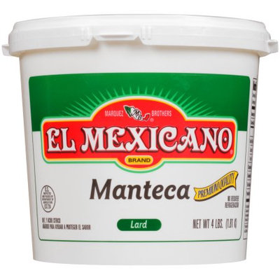 El Mexicano, Lard, 4 lb
