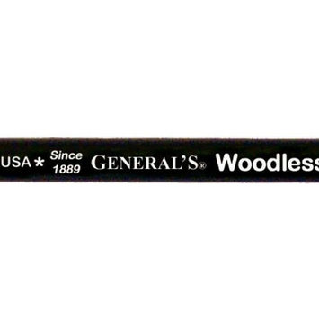 General Pencil Company GENERAL PENCIL CO, INC. 972B WOODLESS GRAPHITE PENCIL 2B
