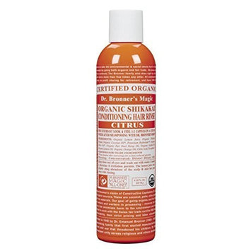 Dr. Bronner Organic Citrus Hair Conditioner Rinse (236ml)