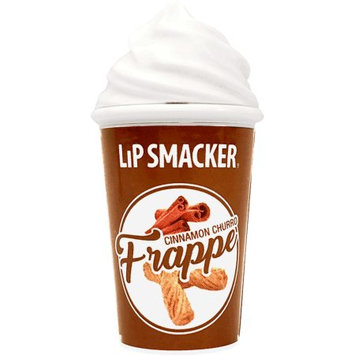 Markwins Beauty Products Lip Smacker Lip Cafe Cinnamon Churro Frappe Lip Balm, 0.26 oz