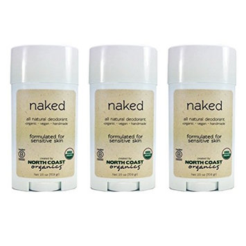 North Coast Organics - All Natural Deodorant Naked