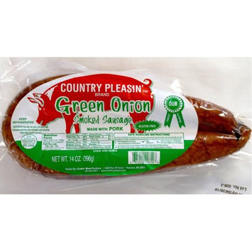 Country Pleasin' Green Onion Smoked Sausage