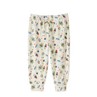 Miniville Newborn/Infant Baby Boy Mix-n-Match Jogger Pant with All Over Print - Outer Space