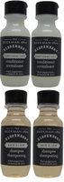 Beekman 1802 Dispensary Shampoo & Conditioner Lot of 4 (2 of each) 1oz Bottles.