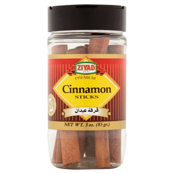 Ziyad Brothers Importing Ziyad, Cinnamon Sticks, 3 Oz (Pack Of 12)