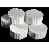 500 PCS Cotton Rolls #2 Medium 3/8