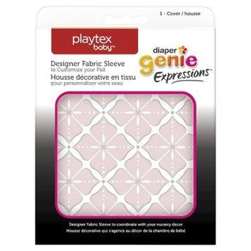Diaper Genie Fabric Cover - Pink Starburst