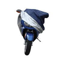 Pilot Automotive Motorcycle Cover Suzuki, Lg All Weather Silver Blue Motorcycle Cover Waterproof