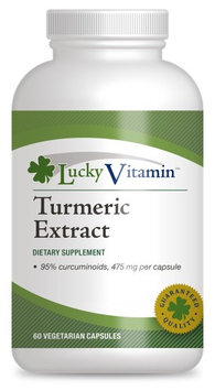 LuckyVitamin - Turmeric Standardized Extract - 60 Vegetarian Capsules