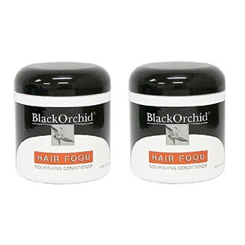 Black Orchid Hair Food Nourishing Conditioner, 7 Oz (Pack of 2) + FREE Eyebrow Razor, 3 Ct.