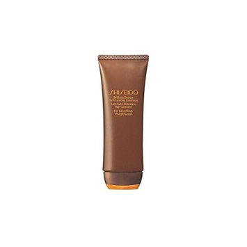Shiseido Brilliant Bronze Self Tanning Emulsion (Face & Body) (100ml) (Pack of 2)
