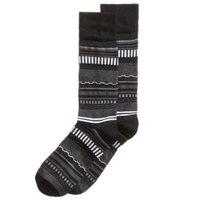 Men's Soft Luxury Striped Dress Socks