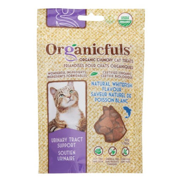 Organicfuls Organic Cat Snacks Urinary - Whitefish Dry Cat Treat, 1.76 oz