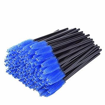 50pcs/pack Disposable Eyelash Eyebrow Brush Cosmetics Eye Lash Brow Makeup Brushes Kit Mascara Wands Applicator Extension Tools